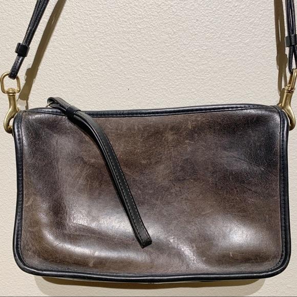 Coach Handbags - Coach 70's Vintage Leather Purse/Shoulder Bag